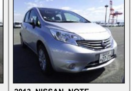 NISSAN NOTE 1,2.    MODEL 2013/2014 AUTOMATIC