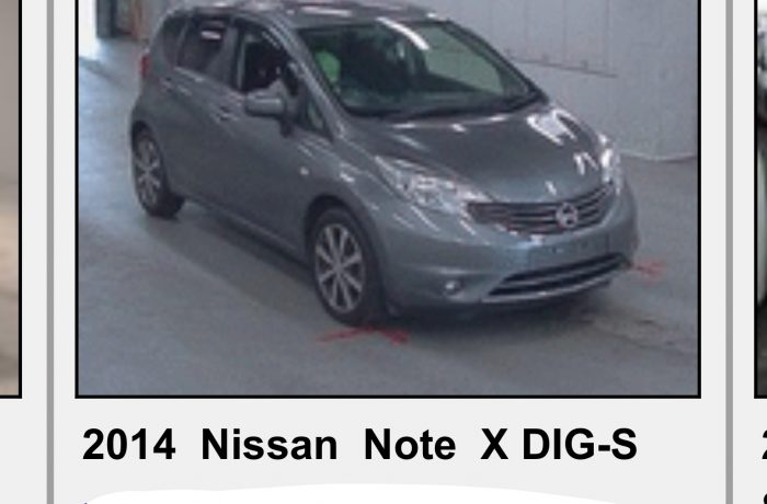 NISSAN NOTE 1,2 X DIG,MODEL 2014