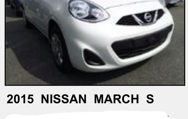 NISSAN MARCH 1,2 ,MODEL 2015 AUTOMATIC