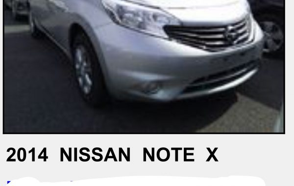 NISSAN NOTE 2014 AUTOMATIC,FULL EXTRAS