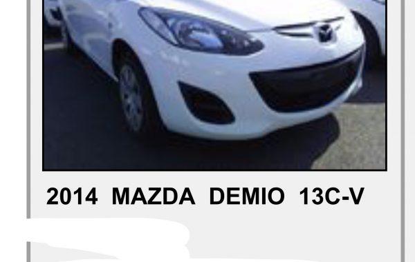 MAZDA DEMIO 1,3 AYTOMATIC ,MODEL 2014