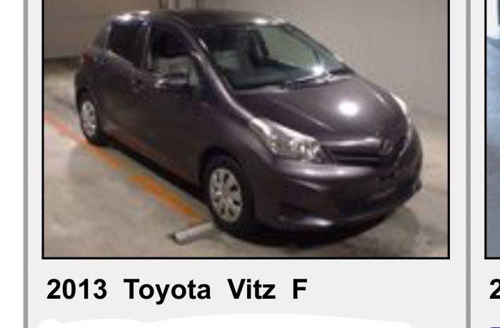 TOYOTA VITS 1,3 AUTOMATIC,MODEL 2013