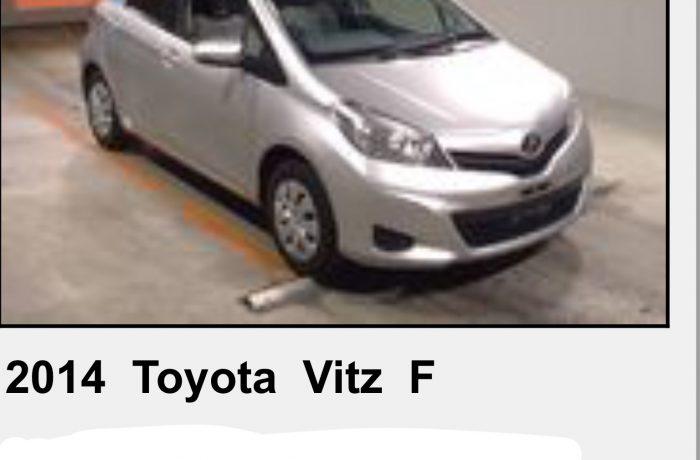 TOYOTA VITS 1,3 AUTOMATIC,MODEL 2014