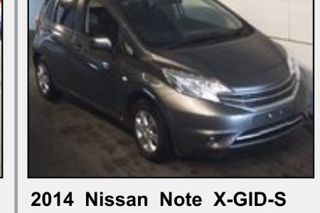 NISSAN NOTE 2014 AUTOMATIC