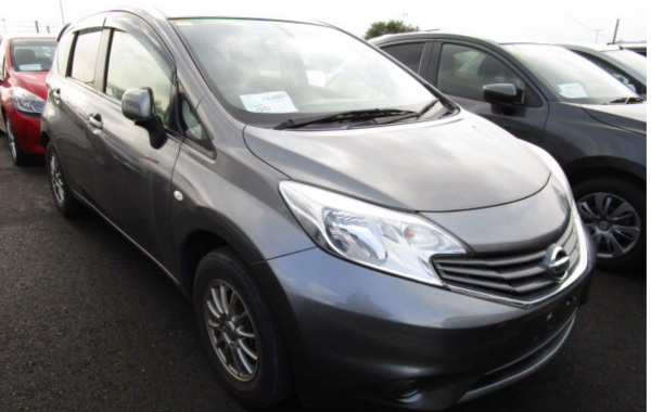 NISSAN NOTE 1,2 AUTOMATIC MODEL 2014