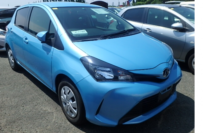 TOYOTA VITZ 1,3 AUTOMATIC MODEL 2014