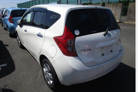 NISSAN NOTE 1,2 AUTOMATIC METALIST MODEL 2015